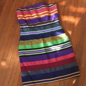 J. McLaughlin Dresses - J.McLaughlin Ribbon strapless dress . Size 6